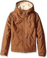 Dickies Big Boys' Sherpa Lined Duck Jacket