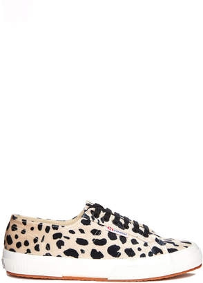 Superga 2750 Dalmatian Low Top Lace Up Sneaker Multi 6.5