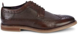 Ben Sherman Brent Longwing Perforated Leather Derbys