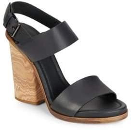 Vince Haley Leather Sandals