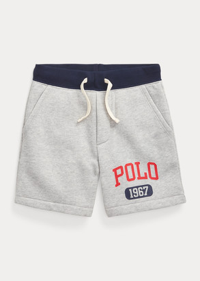 Ralph Lauren Logo Fleece Pull-On Short