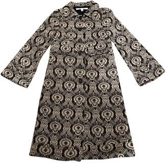 Diane von Furstenberg Gold Wool Coats