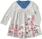 Tea Collection Hana Trapeze Dress (Baby) - Heather Grey - 18-24 Months