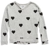 T2 Love Girl's Hachi Print Pullover