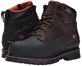 Timberland 6 Rigmaster XT Steel Safety Toe Waterproof (Brown Tumbled Leather) Men's Work Boots
