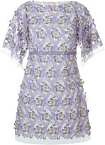 Giamba embroidered sheer floral dress - women - Polyester - 40