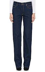 Calvin Klein Women's Straight-Leg Jeans-Blue
