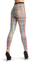 LissKiss Holographic Aztec On - Leggings