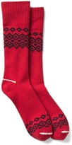 Gap Diamond fair isle boot socks