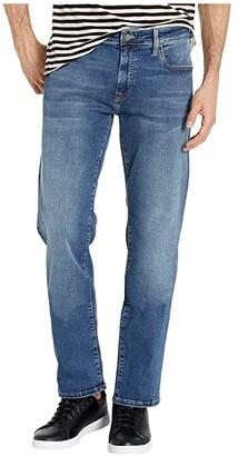 Mavi Jeans Zach Straight Leg in Mid Brushed Cashmere (Mid Brushed Cashmere) Men's Jeans
