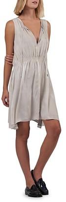 ATM Anthony Thomas Melillo Crepe Georgette A-Line Dress
