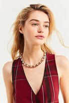 Urban Outfitters Chunky Pearl Chain Necklace