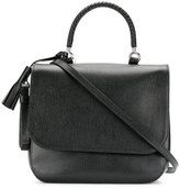 Max Mara Top satchel bag - women - Cotton/Calf Leather - One Size
