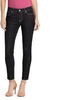 Lauren Ralph Lauren Skinny Ankle Jeans in Asphalt