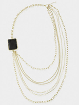 Jewel Multi-Chain Necklace