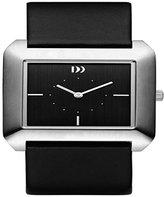 Danish Design Women's Patent Leather Band Steel Case Quartz Analog Watch IV13Q989
