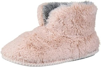 Dearfoams Women's Pile Bootie Slipper