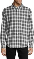 Ezekiel Checkered-Print Long-Sleeve Shirt