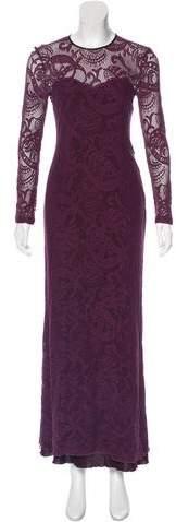 Yigal Azrouel Lace Evening Dress