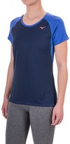 Mizuno Discover Running Shirt - Short Sleeve (For Women)