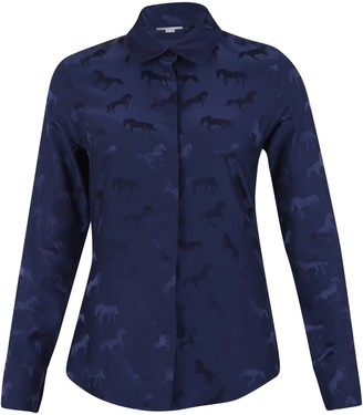 Stella McCartney All Over Horse Print Shirt