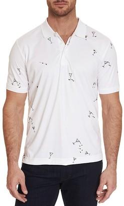 Robert Graham Dirty Martini Graphic Polo Shirt