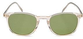 Oliver Peoples Unisex Finley Vintage Square Sunglasses, 49mm