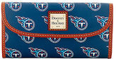 Dooney & Bourke NFL Titans Continental Clutch