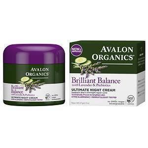 Avalon Ultimate Night Cream, Lavender