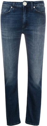 Dondup Allie mid-rise slim-fit jeans