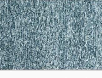 Calvin Klein Tulsa Handmade Shag Blue Area Rug Rug Size: Rectangle 4' x 6'