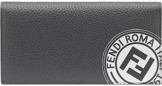Fendi Logo Patch Continental Wallet