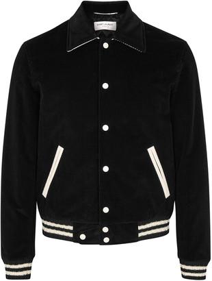 Saint Laurent Black corduroy jacket