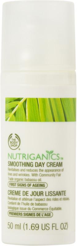 The Body Shop Nutriganics Smoothing Day Cream