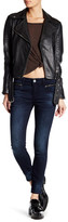 KUT from the Kloth Zipper Moto Skinny Jean