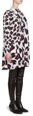 Givenchy Lily Silk Crepe de Chine Print Dress