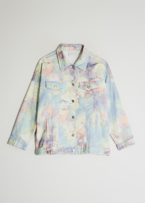 Which We Want Women's Ines Tie Dye Jacket, Size Small | Spandex