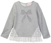 Design History Bow Pullover (Toddler & Little Girls)