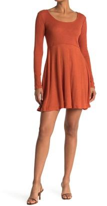Angie Sweater Knit Skater Dress