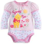 Disney Winnie The Pooh Cuddly Bodysuit - Baby