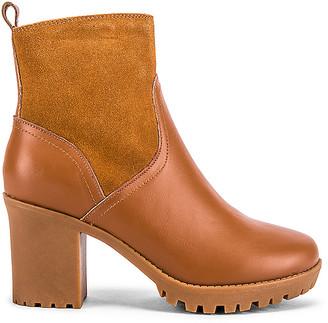 Soludos Dani Sherpa Platform Boot