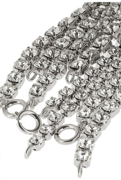 Maison Martin Margiela Set of two silver-tone arm cuffs