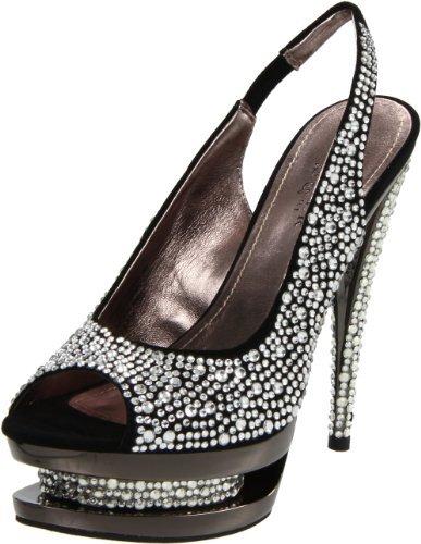 Pleaser USA Women's Fascinate-654Sl/BS/PCH Platform Sandal