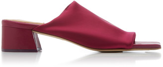 Miista Caterina Lycra Heeled Slide