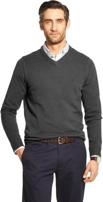 Izod Men's Premium Essentials V-neck Sweater