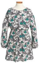 Tucker + Tate Girl's Cold Shoulder Print Dress