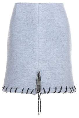 Acne Studios Farson wool-blend miniskirt