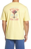 Tommy Bahama Men's Big & Tall 'Pullin For The Home Team' Graphic Crewneck T-Shirt