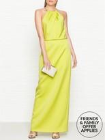 Ted Baker Anglei Chain Neckline Maxi Dress
