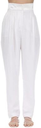ÀCHEVAL PAMPA Gato Upcycled Linen Blend Pants